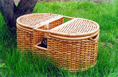 Плетение из лозы своими руками корзины